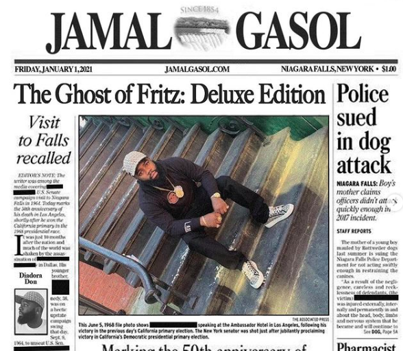Jamal Gasol - Ghost of Fritz (Deluxe Edition)